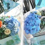 aranjament floral tematica marina
