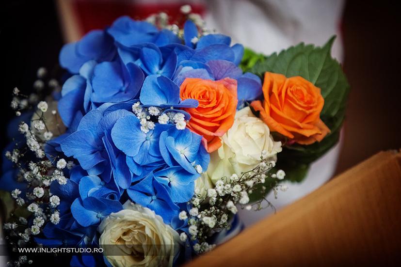 Aranjamente Florale Nuntă Marină