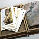 Travel Journal, harta lumii pictata pe piele