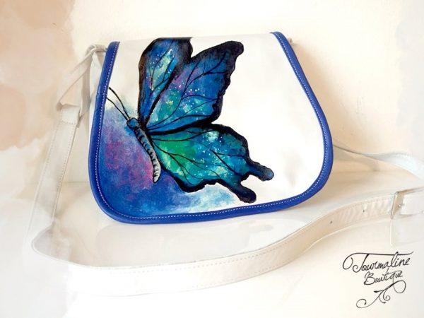 Geanta Fluture albastru