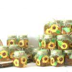 mărturie pictata floarea soarelui cu miere