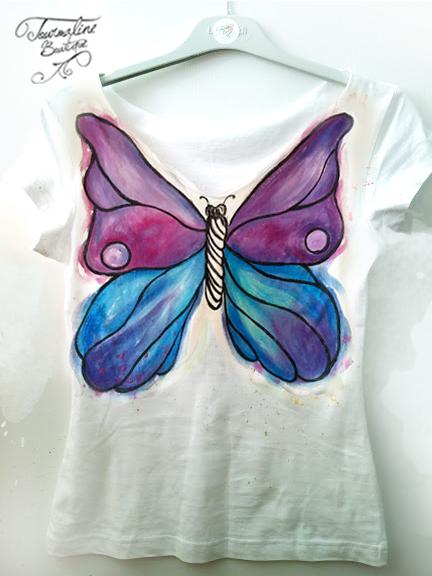 tricou fluture de vanzare