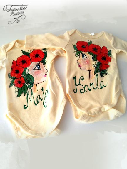 set tricouri maci fetite gemene