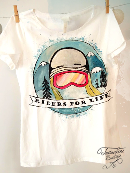 tricou sport extrem riders for life