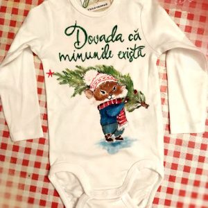 TRicou bebe pictat manual soricel